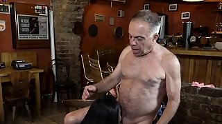 Teen gets tied up and..