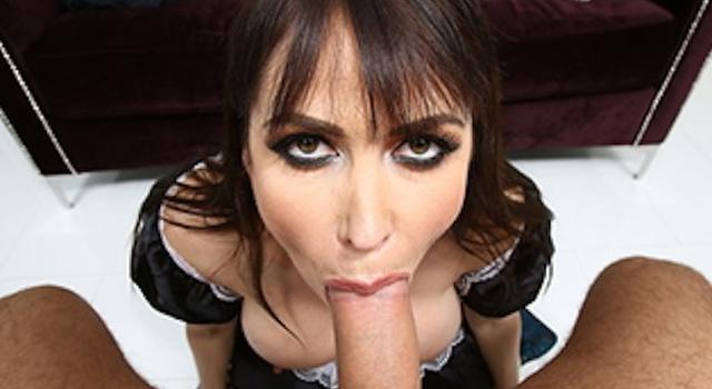 Spectacular maid Eva..