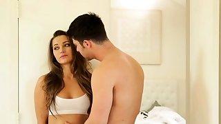 Kinky brunette Dani..