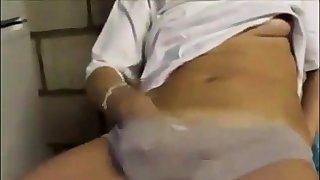 She makes him cum 2