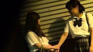 Japanese teen fingering..