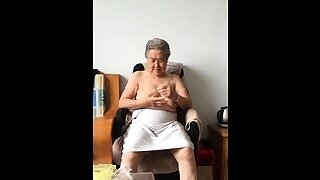 Asian 80+ Granny After..