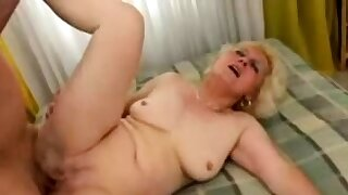 Mature blonde French..