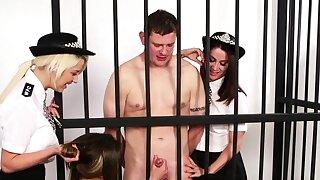 British policewomen..